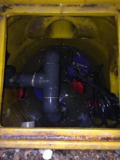After sump pump clean