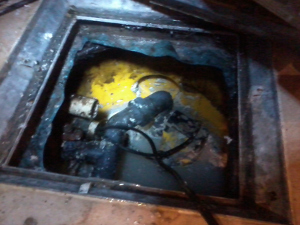 An unchecked Sump and Pump